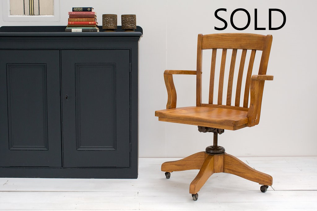 Brilliant X Early 20Th Century Bankers Chair By Murphy Of Usa Uwap Interior Chair Design Uwaporg